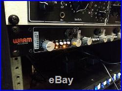 Warm Audio WA412 WA-412 4-Channel API 312-Style Microphone Preamp Mic Pre / DI