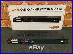 Warm Audio WA73 Mic Microphone Pre Preamp NEW UNUSED