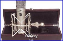 Warm Audio WA87 U87 Condenser Mic 9 patterns withshockmount, wood box 638142859288