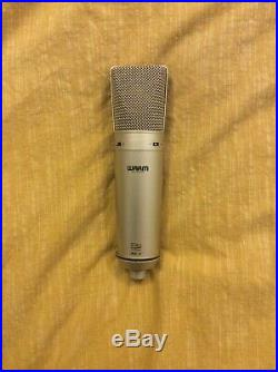 Warm Audio WA87 Vintage Style Condenser Microphone WITH EXTRA BLACK MIC COVER