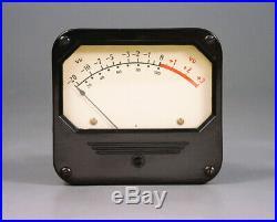Weston 802 Vu Audio Level Meter Vintage Tube Microphone Langevin Rca MIC Preamp