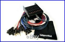 Whirlwind Elite Medusa Audio Snake 12 Mic inputs x 4 XRLF returns 150ft