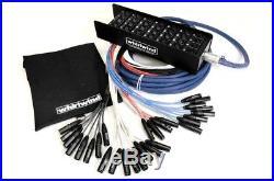 Whirlwind Medusa Elite 16 Mic inputs, 4 returns Audio Snake 50 ft ME-16-4-XL-050