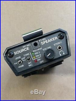 Whirlwind Q-box Audio Mic / Line Tester Rev2 Q Box QBox