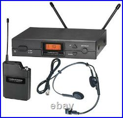 Wireless Headset Mic System with PRO8HECW, Channel 38 AUDIO TECHNICA