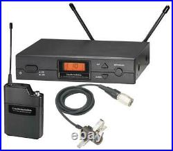 Wireless Lapel Mic System with AT829CW, Channel 70 AUDIO TECHNICA