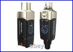Xvive Audio U3C Microphone Wireless System For Condenser Mic Black