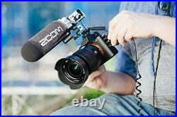 Zoom F1-SP On-Camera Audio for Video Recorder w. Shotgun Mic- prosounduniverse